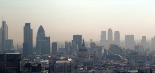 Londo-skyline-Canary-Wharf