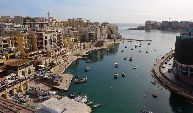 St-Julians-Malta-Harbour