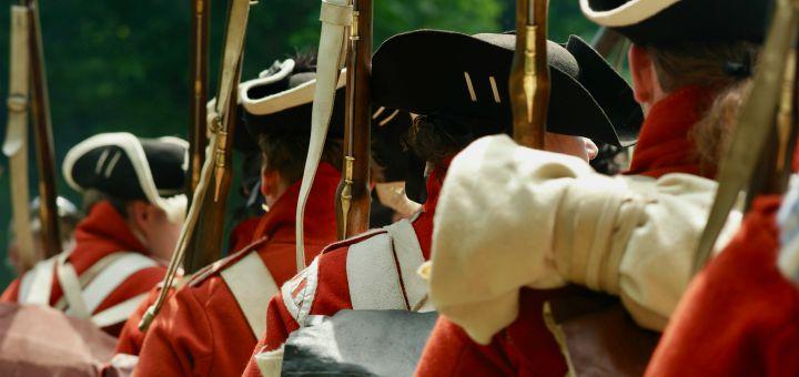 british soldiers redcoats