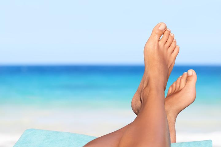 feet beach
