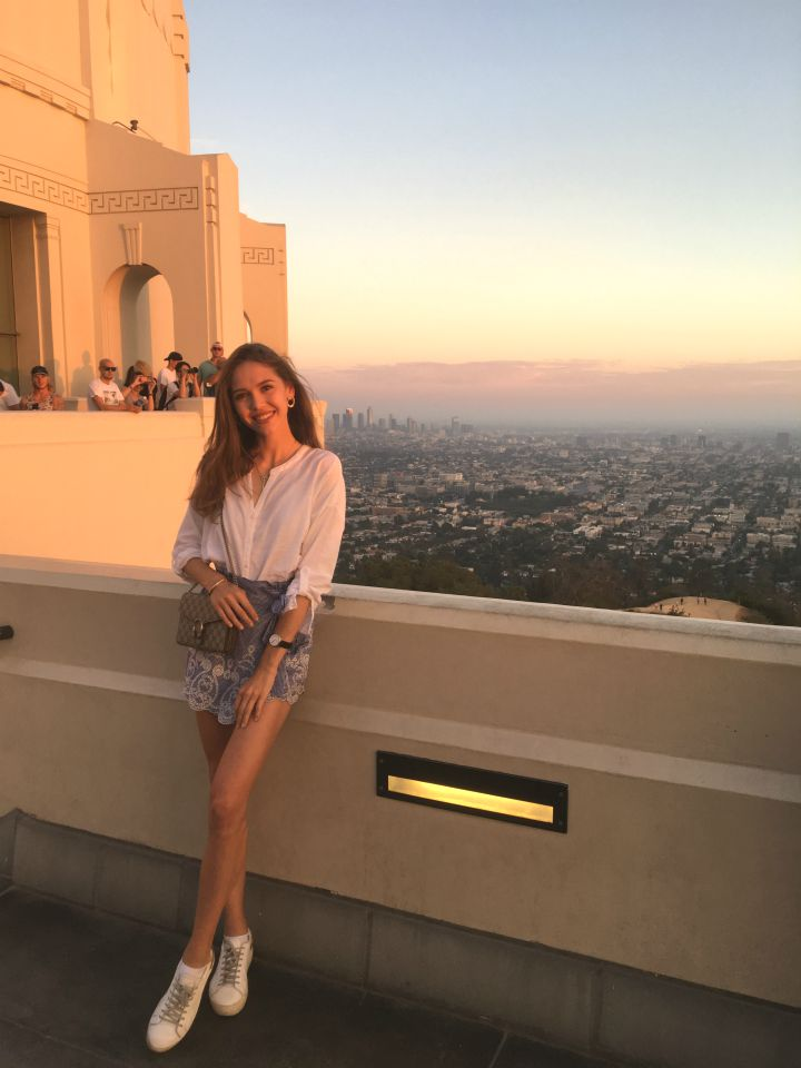 griffith observatory sunset LA