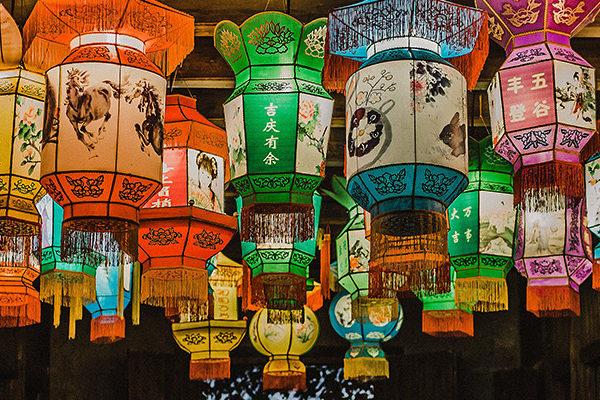 lantern lampshades